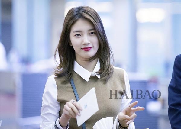 裴秀智 (bae suzy) 9.15韩国仁川机场赴菲律宾