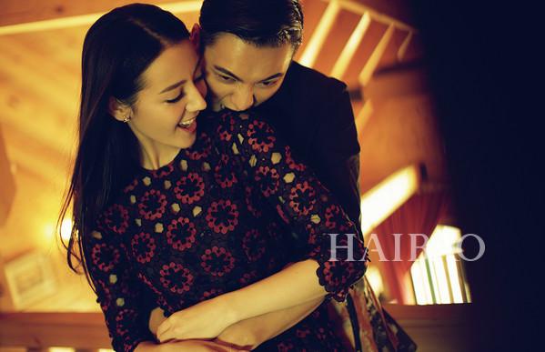 陈伟霆、迪丽热巴登《时尚芭莎》2015年10月刊内页