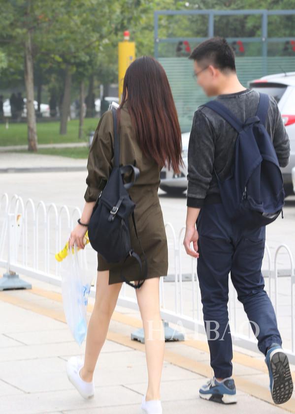 华语明星最新街拍:刘诗诗