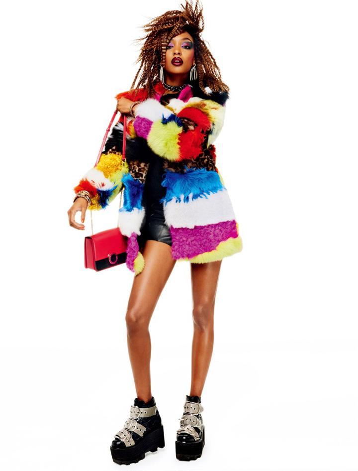 Jourdan Dunn《Vogue》日本版2015年12月号