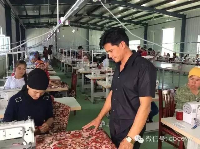 创业在中国大西北:塔西买买提的服装梦