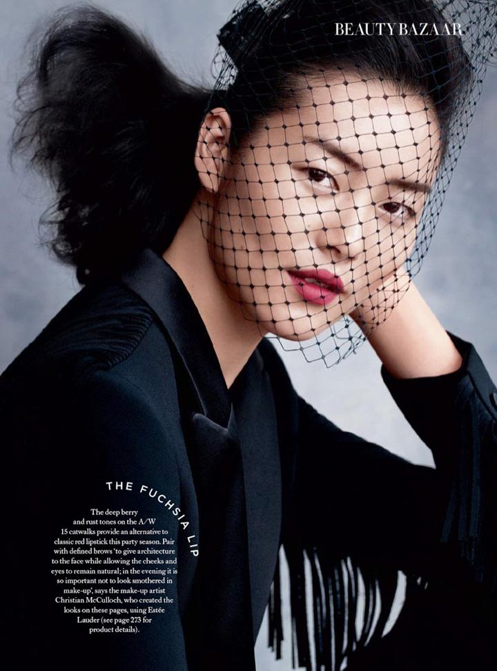刘雯《Harper's Bazaar》英国版2015年12月号