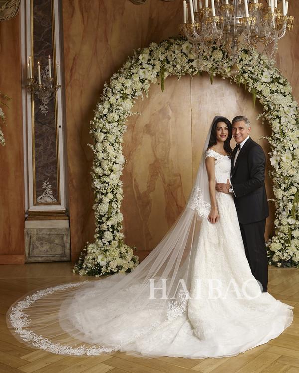 好莱坞明星的绝美婚纱礼服