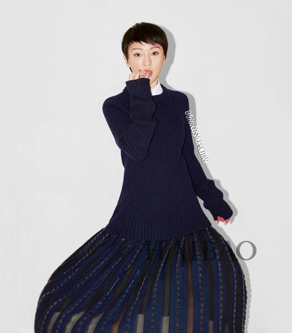 周迅、白百何登《时尚Cosmopolitan》2015年11月刊封面