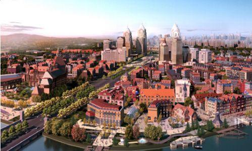 武汉绿地城欧洲风情小镇位于图片
