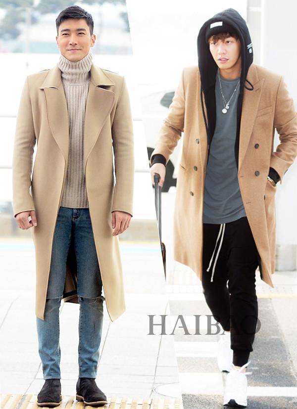 中国服装网 时尚资讯 搭配 最新韩国男明星街拍:长腿欧巴崔始源最吸睛图片