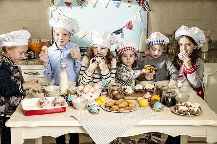小猪班纳童装:烘焙时尚大片