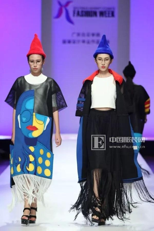 2016中国(广东)大学生时装周|广东白云学院服装设计毕业作品展演图片