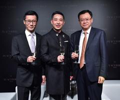 张江平(中) 陈大鹏先生(左)曲德君先生(右)