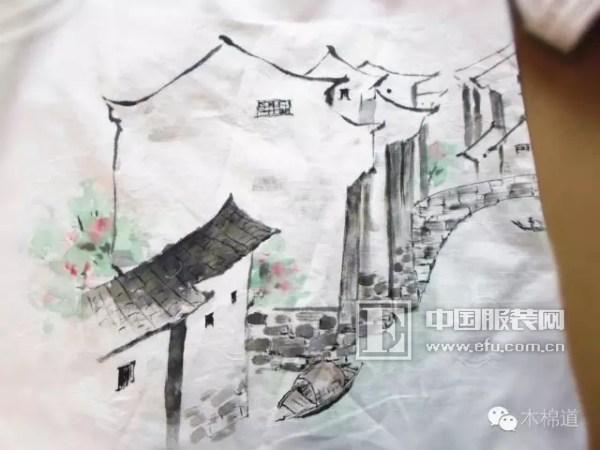 徽式建筑细节手绘图