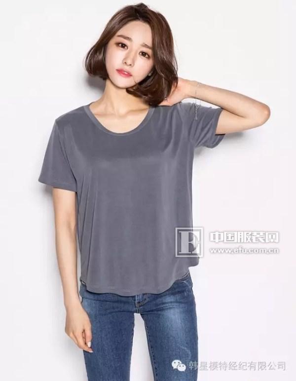空白t恤模特素材