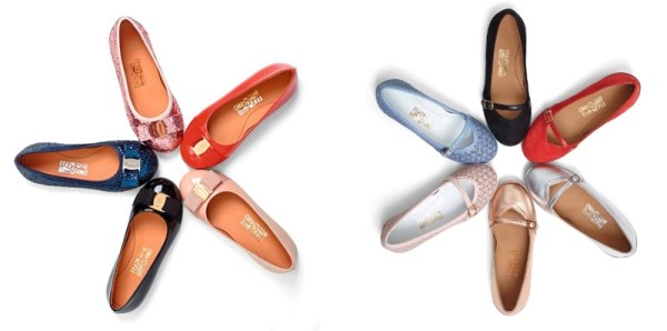 比起做了一百多年童装的 LANVIN,Salvatore Ferragamo 显然是个童装新手。不过术业有专攻,Ferragamo 瞄准的是童鞋市场。此前 Ferragamo 曾推出过一个童鞋胶囊系列作为特别款式售出,不过由于销售业绩极好和顾客反响热烈,Ferragamo 在经过对童鞋的再设计和调整以后宣布将于 6 月 24 日正式开卖品牌的首个常驻童鞋系列。