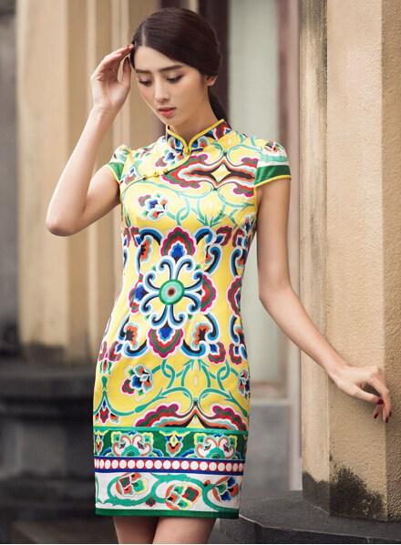 红姿韵服饰_华姿韵改良版旗袍,尽显中国美_数据资讯_中国服装网