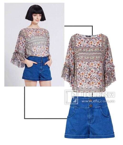 自带PS瘦身效果的短裤,蓝色倾情教你打开夏天的套路!