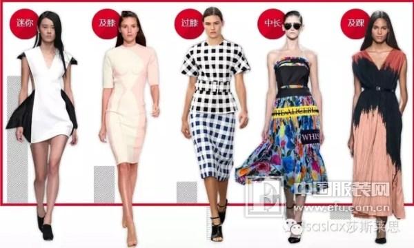 莎斯莱思时尚穿搭 秀美腿的季节,裙子穿多长才最美
