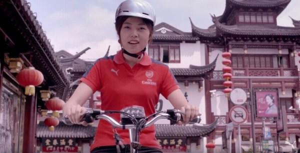 PUMA发布上海版阿森纳宣传片 诠释中国球迷的热情