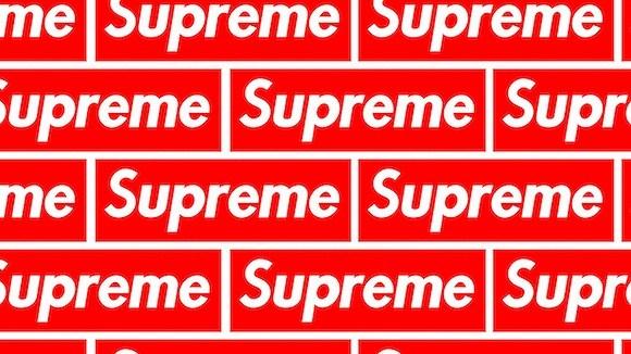 supreme这红底白字充满魔力的logo是如何来的?
