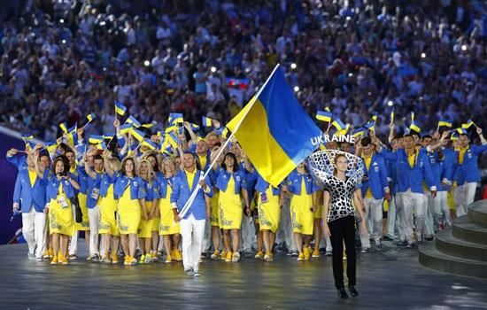 匹克设计的乌克兰代表团服装被评里约奥运TOP5