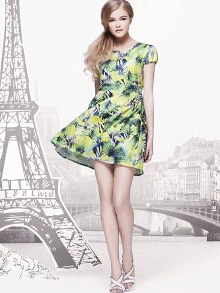 女装品牌诚招中国空白区域连衣裙代理经销商,茵符时尚女装系广州笨鸟
