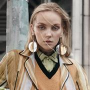 超模Heather Marks 展现春日流行新趋势