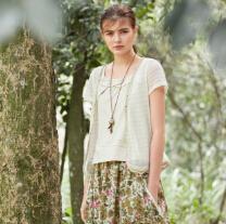 禾佃春装新品:自然系森女