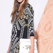 SelectNower斯浓女装新品:有趣和beautiful的几何图样