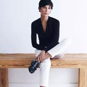 黑与白:最时尚有范儿不过黑+白!