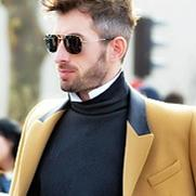 男装周上全宇宙最有型的男人都在穿高领毛衣