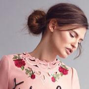 意大利名模Bianca Balti 演绎杜嘉班纳秋冬风尚