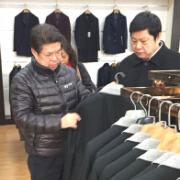 中国职业装产业协会赴河北省职业装企业考察调研