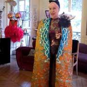 #巴黎时装周#披上安莉芳特订龙袍,Marie Beltrami 女王火力全开