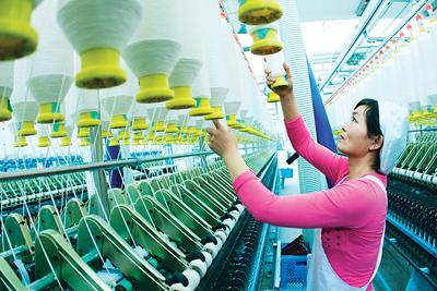 浙江省去年纺织行业数据出炉 利润总额3860亿元
