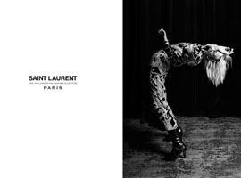 Saint Laurent(圣罗兰)2016广告大片