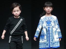 中国国际时装周:MINI PETREL•澈童装发布会