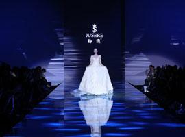 中国国际时装周:绝设婚纱礼服发布会