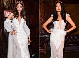 2017春夏纽约婚纱周:Berta的时尚复古风