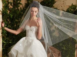 纽约婚纱周:卡罗琳娜·海莱娜领衔都市现代新娘