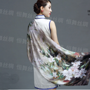 恒舞|夏季防晒真丝长丝巾,让你做有品味女人