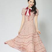 伊乐闻女装2016夏装新品 飘逸长裙演绎异国风情