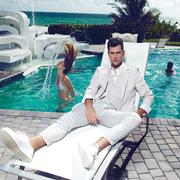 化人米雅:塑造高端男装新时尚 引领时装周般即视感