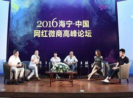 【解密网红经济微商趋势】2016海宁中国网红·微商高峰论坛