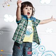 简约时尚的皇儿童装,是给孩子的好礼物!
