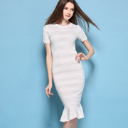 CXDTOP 茜诗迪女装2016夏装新品 翩翩裙装 优雅绽放