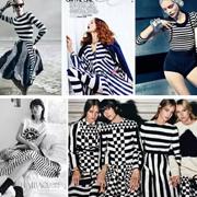 Borlan宝莱国际2016夏装新品 演绎精彩条纹控