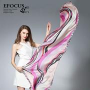 EFOCUS伊点新品丝巾  萦绕在脖颈间的优雅!