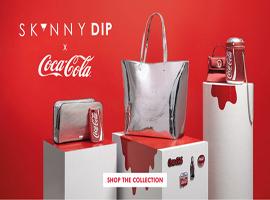 可口可乐搭手英国饰品潮牌Skinnydip推限量系列产品