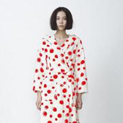 朵朵可可秋冬波点睡袍,演绎舒适的时尚!