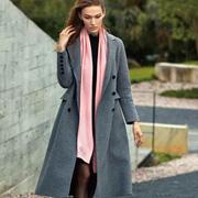 奥菲曼秋冬A字版大衣 满满的时尚感