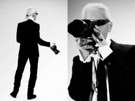 时尚巨擘Karl Lagerfeld 老佛爷的鬼才摄影纪录