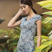 华姿韵改良版旗袍,演绎现代女性之美!
